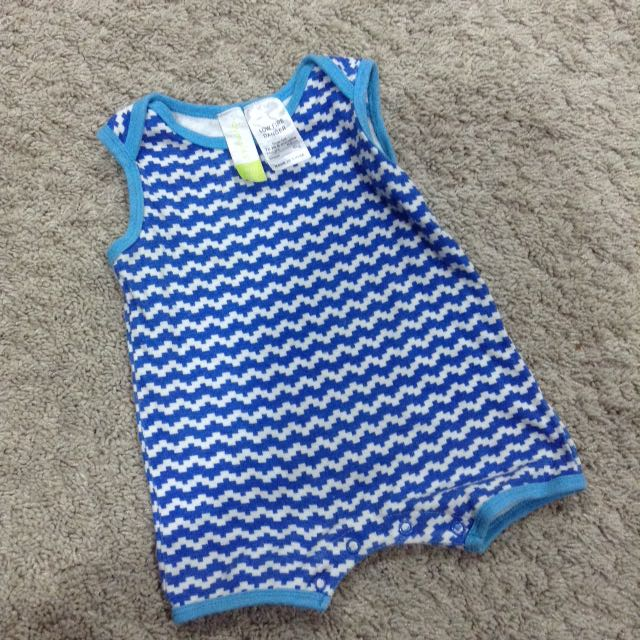 Dymples Sleevless Baby Boy Romper