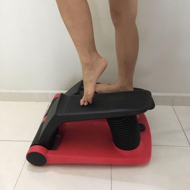 Exercise home stepper