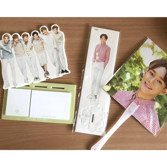 EXO Nature Republic Merchandise