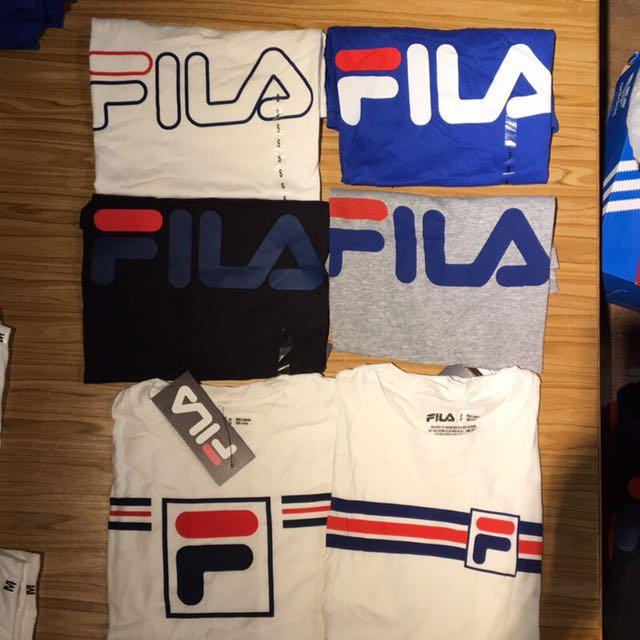 FILA短Tshirt(灰)