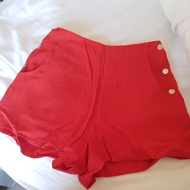 Forever New High Waisted Shorts Size 6
