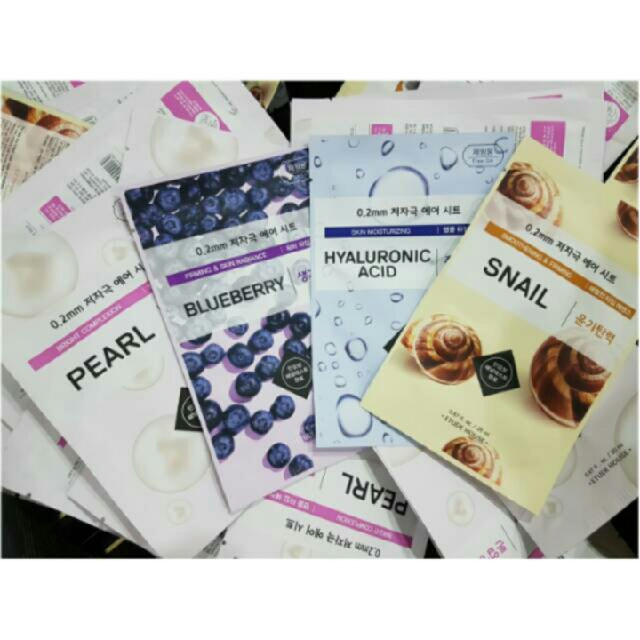Free Ongkir!! Paket Teraphy Air Mask Sheet (Isi 4pcs)