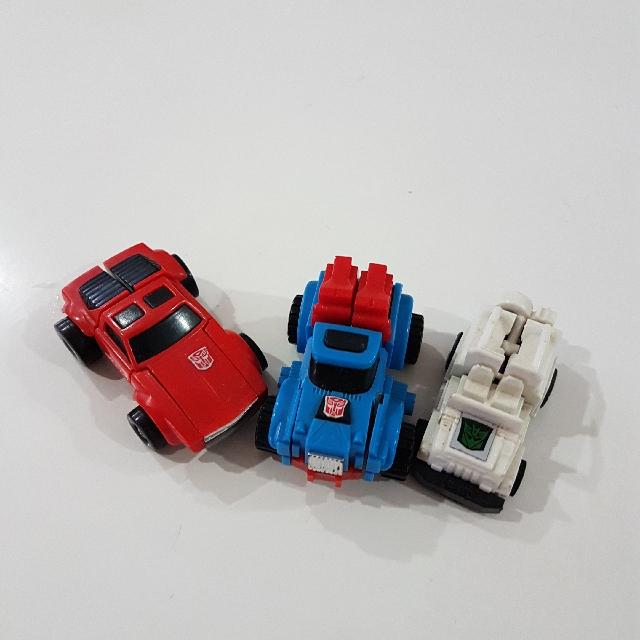 G1 Transformer Minibots