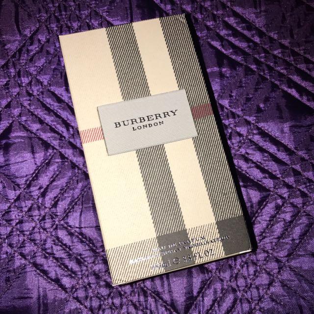Genuine Burberry London Perfume 100ml
