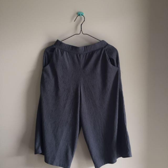 grey culotte
