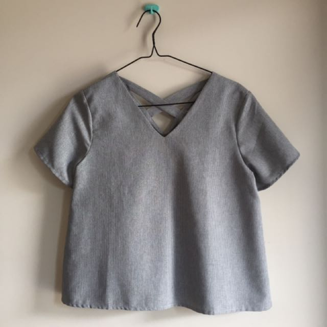 grey top by this is april