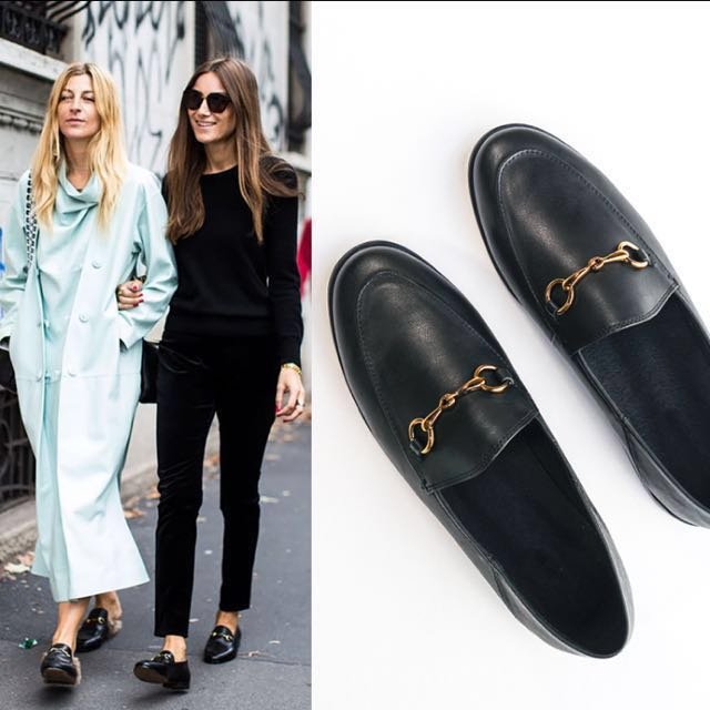 8b359ecf21e Gucci Jordaan Inspired Black Leather Loafer
