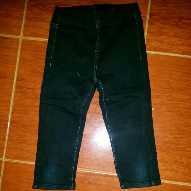 H&M Stretch Black Pants Kids