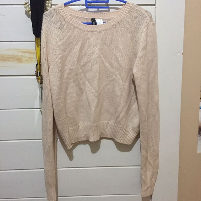 HNM Crop Sweater