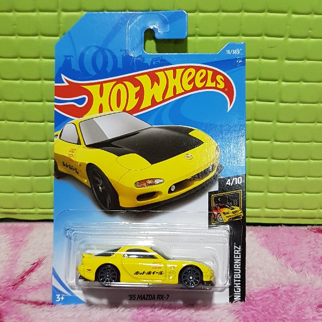 hot wheels 2018 95 mazda rx7 booked toys games bricks figurines on carousell. Black Bedroom Furniture Sets. Home Design Ideas