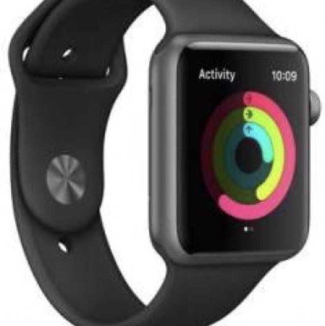 I watch series 1 38mm brand new black and space grey