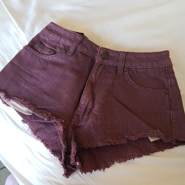 Insight Hight Waisted Cheeky Shorts Size 6