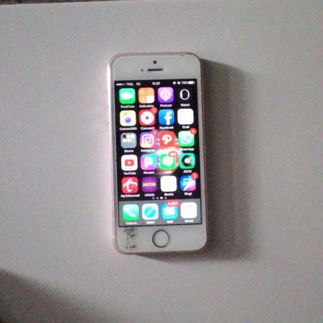 iPhone 5s 64gb rose gold
