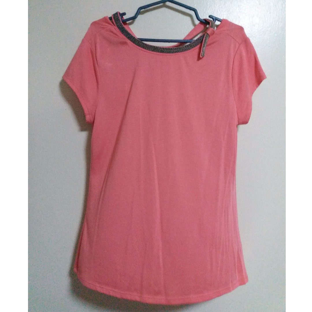 Jennifer Lopez Pink/Salmon Top