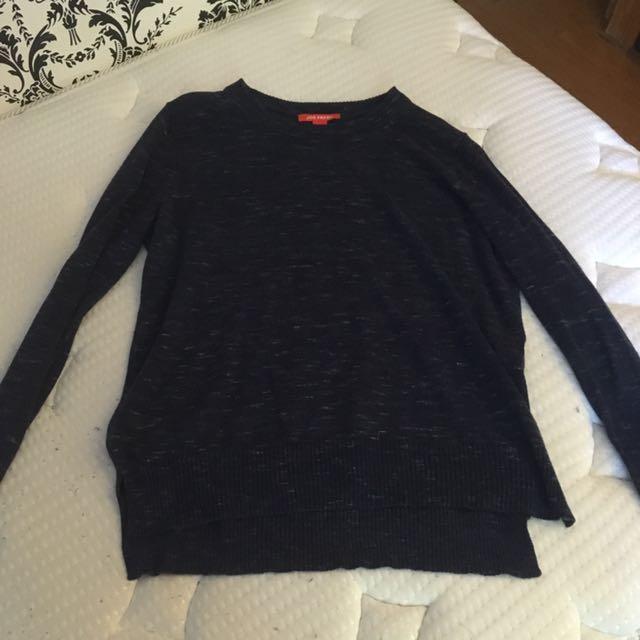 Joe Fresh Navy Sweater