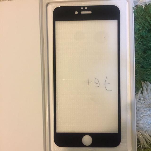 JUAL RUGI Tempered Glass iPhone 7 (Black)