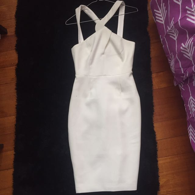 Keepsake the label white dress size xxs