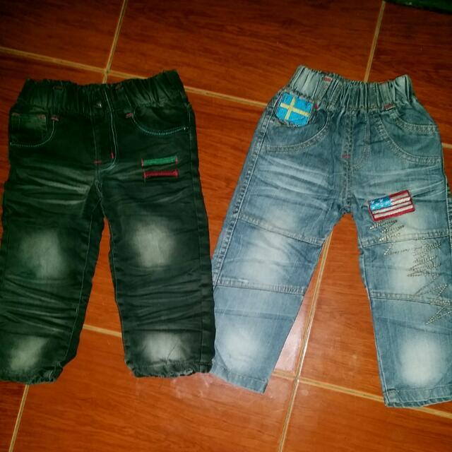 Korean Pants Bundle 2 To 3 Yrs