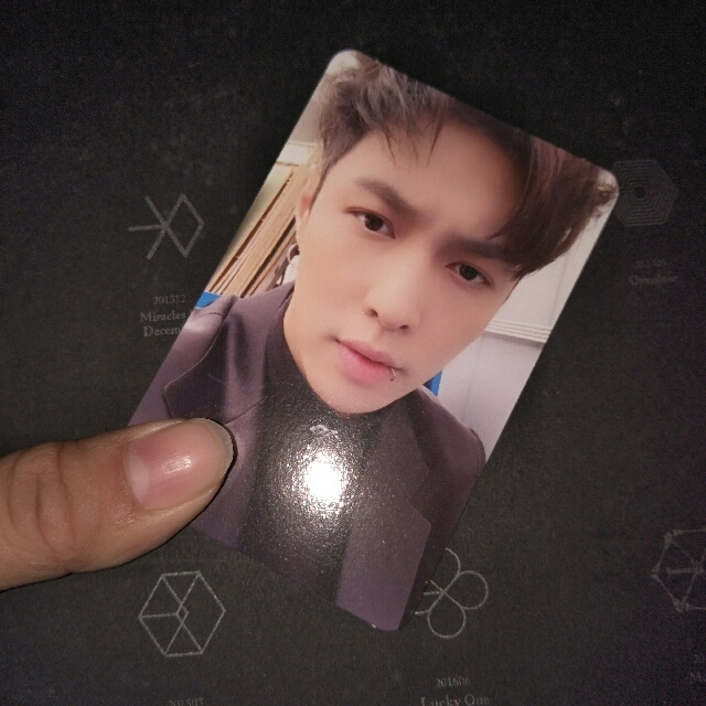 Lay Photocard From EXO Album Exact
