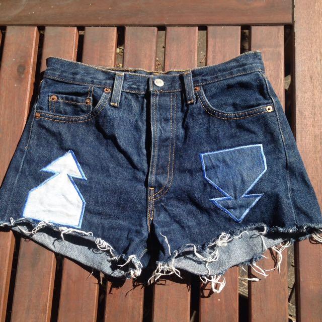 Levi cut-off shorts