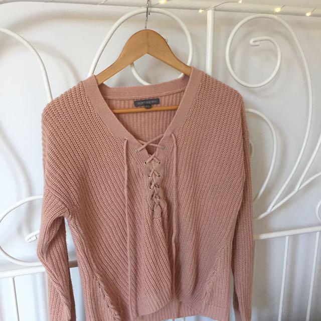 Light Pink soft sweater?