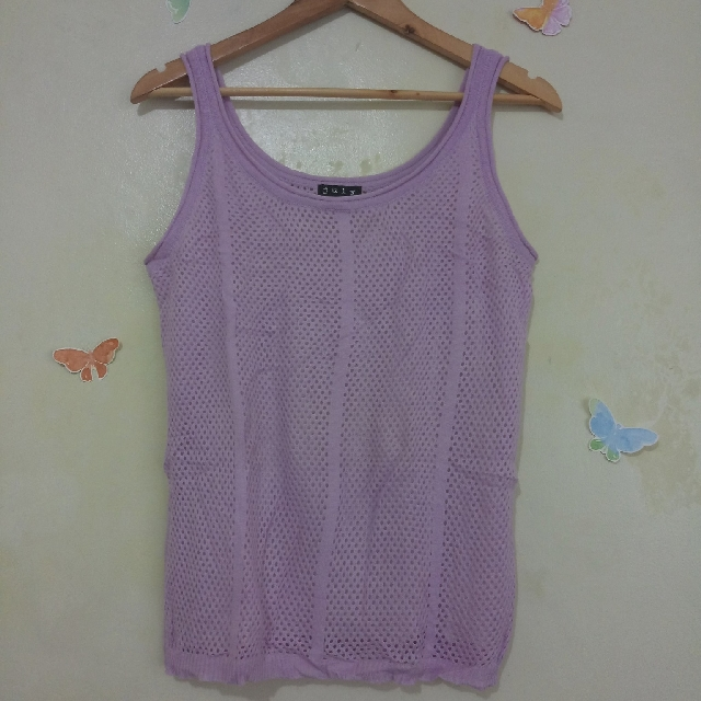 Lilac Knitted Top