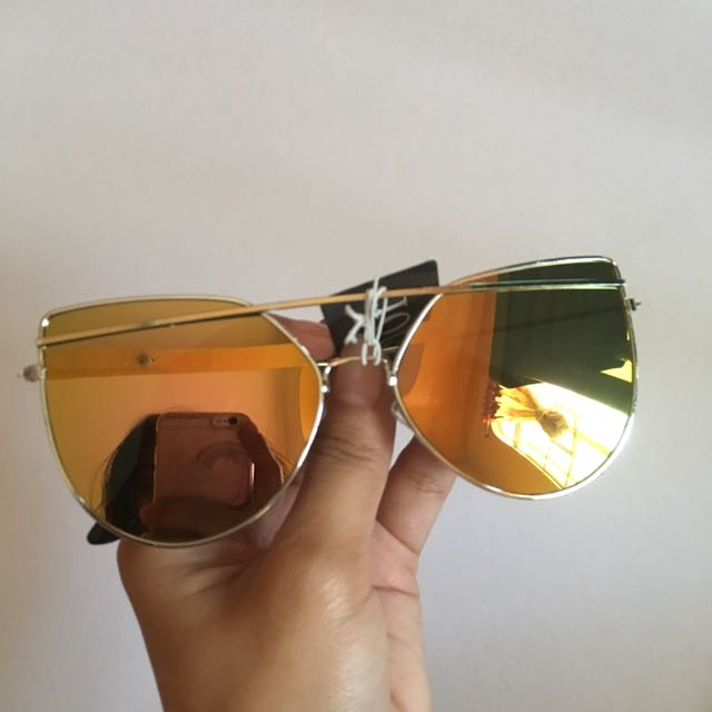 Lime colored sunnies