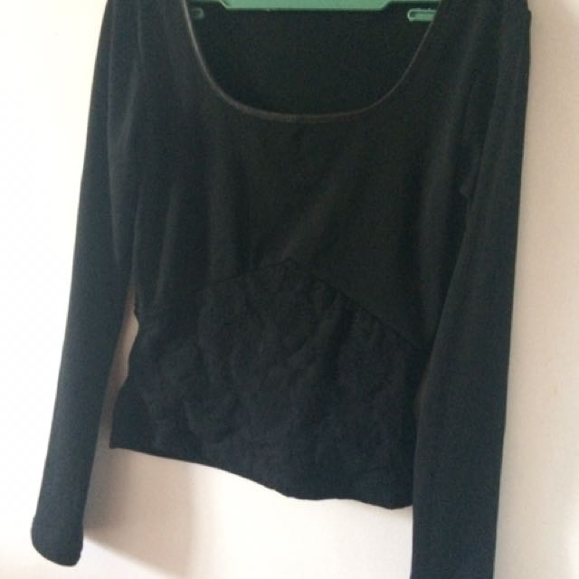 Long sleeves round neck