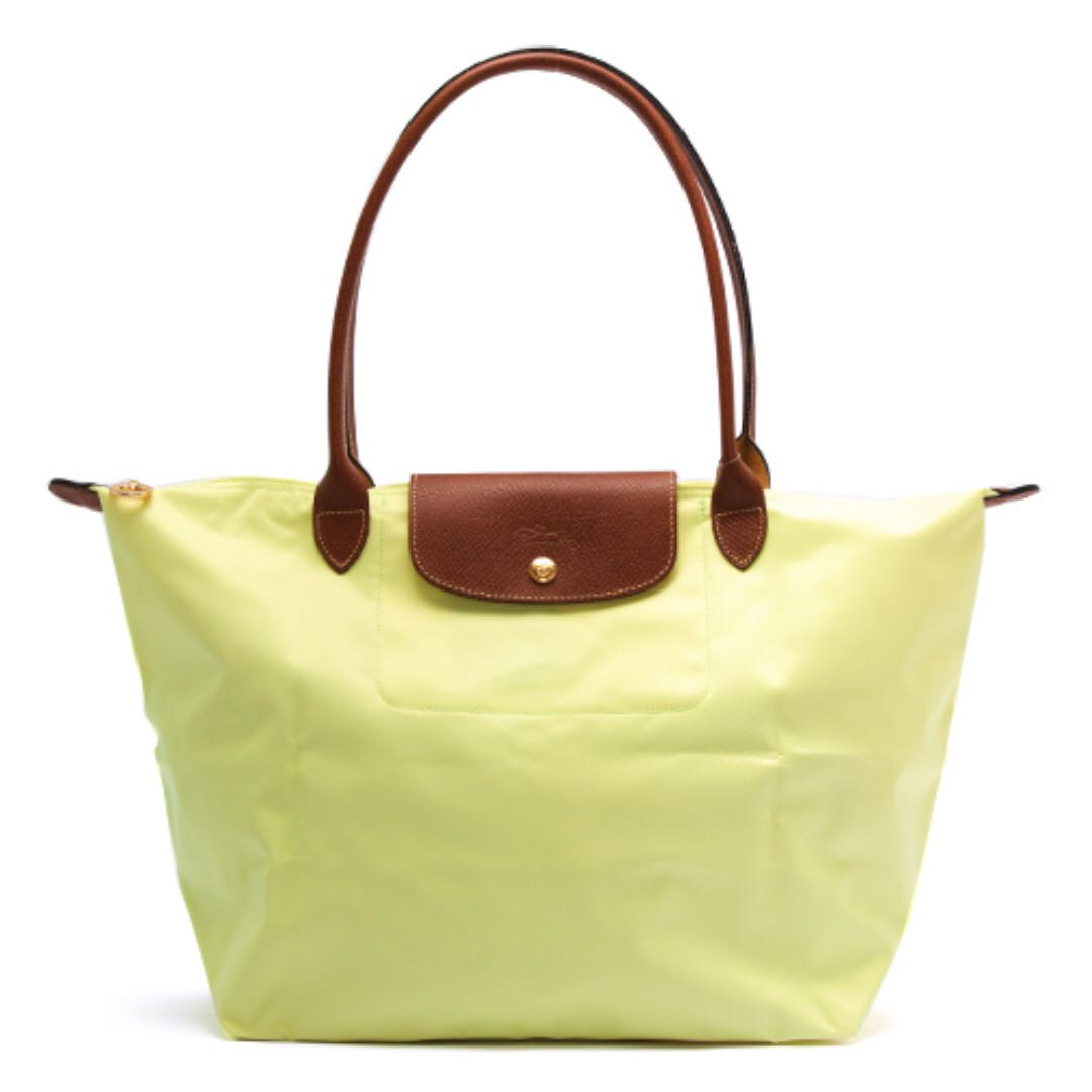 4dfe260d6f2fd Longchamp Le Pliage Tote bag large - anise aniseed green 1899089 ...