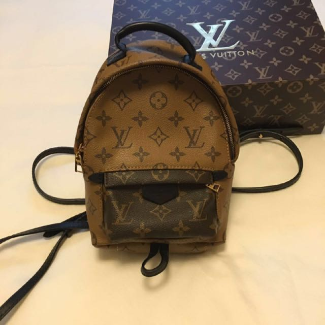 4f9b73c99025 Louis Vuitton LV Palm Springs Backpack – Mini (popular and sold out ...