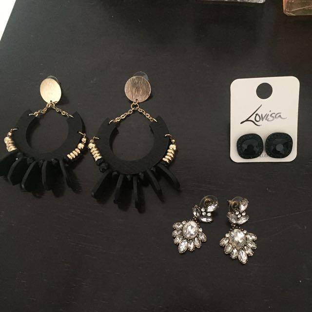 Lovisa earrings never been worn