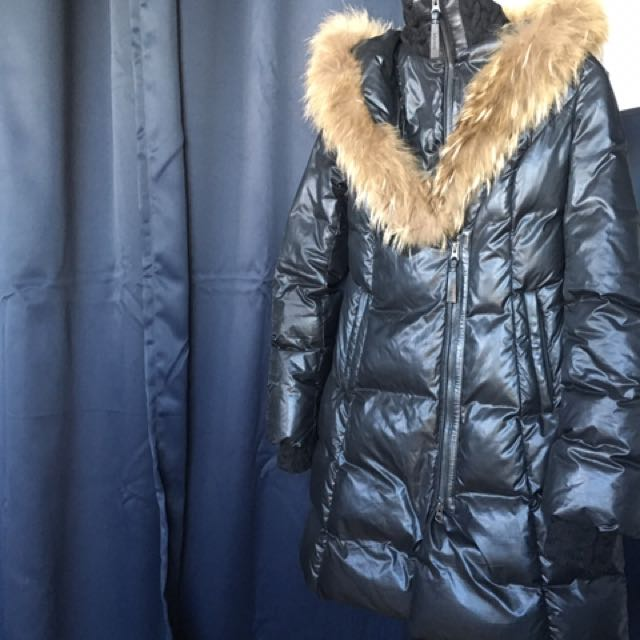 Mackage fur trimmed jacket parka coat