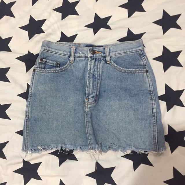 Maong Skirt
