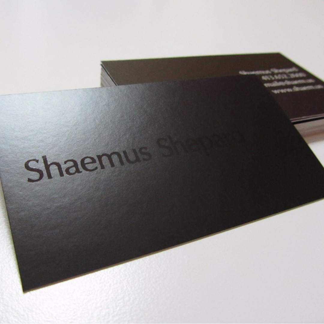 Matt Laminated Namecard / Business card Printing Service, Design ...