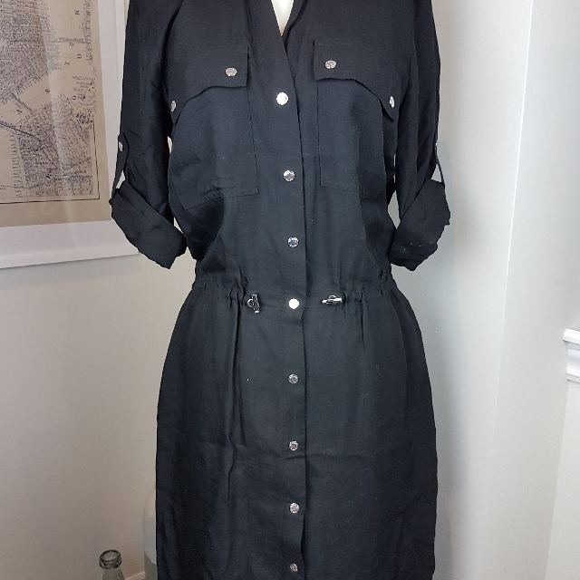 Michael Michael Kors Rayon Shirt Dress
