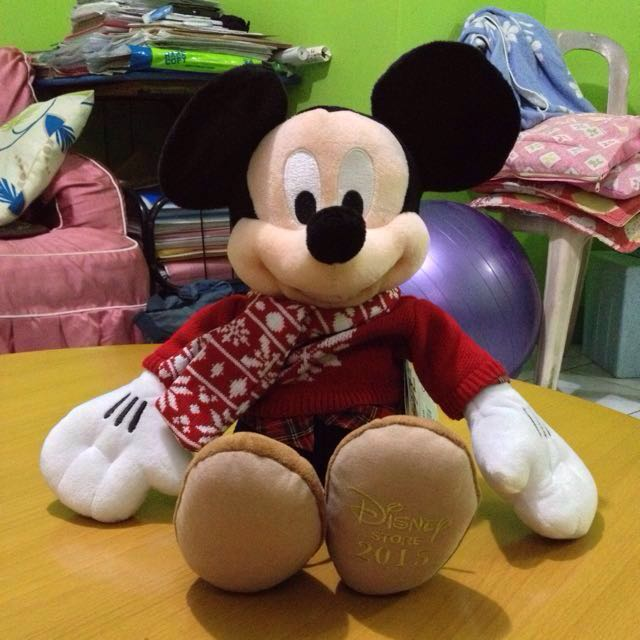 Minnie & Mickey mouse stuff toy
