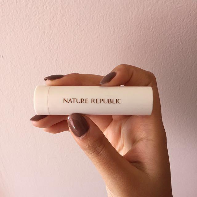 Nature republic creamy lipstick rose brown