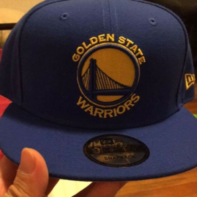 New Era Golden State Warriors Snap back