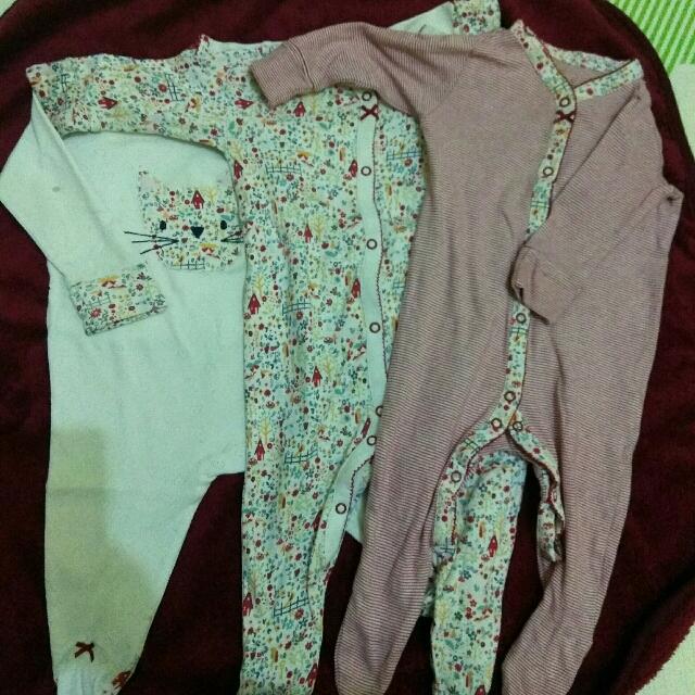 next preloved size 3-6 sleepsuit