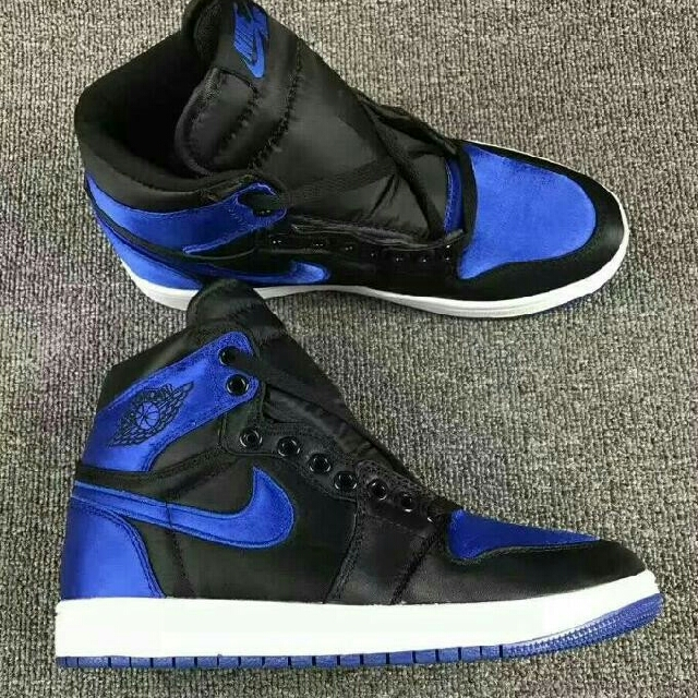 d1272e00bc6cd5 Nike Air Jordan 1 Satin Royal Blue