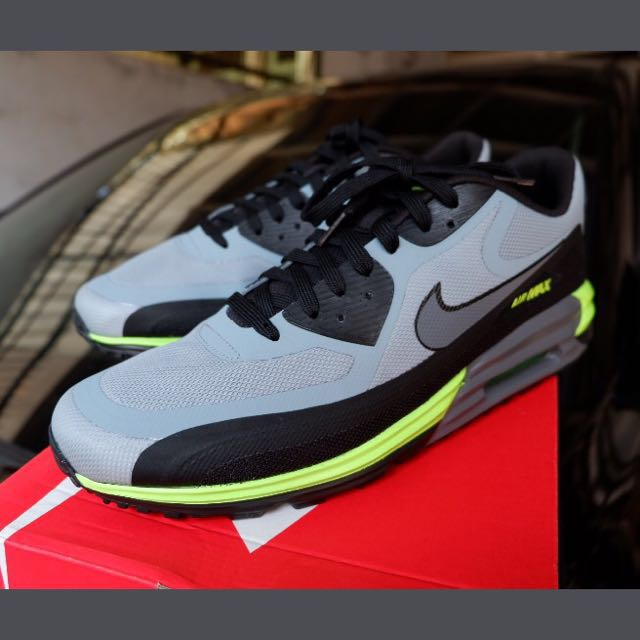 info for 8ee3c 4b00b NIKE AIR MAX LUNAR 90, DOVEGREY BLACK GREEN SIZE UK 9.5 EUR 44, Men s  Fashion, Men s Footwear on Carousell