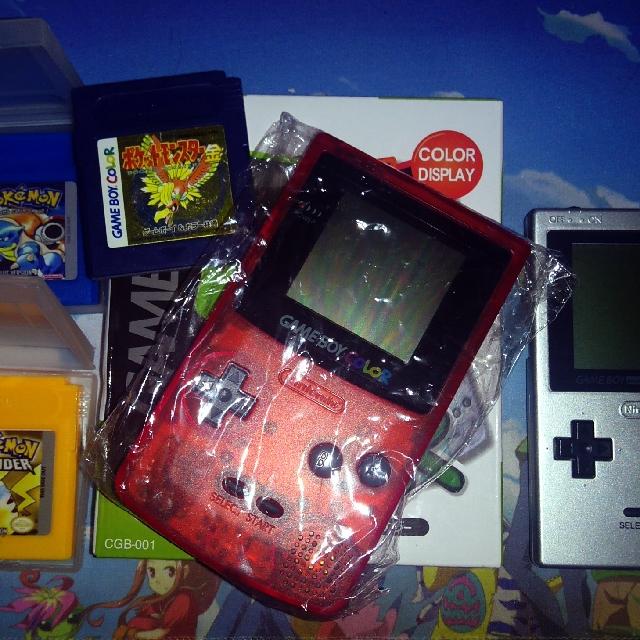Nintendo Gameboy Color & Gameboy Pocket
