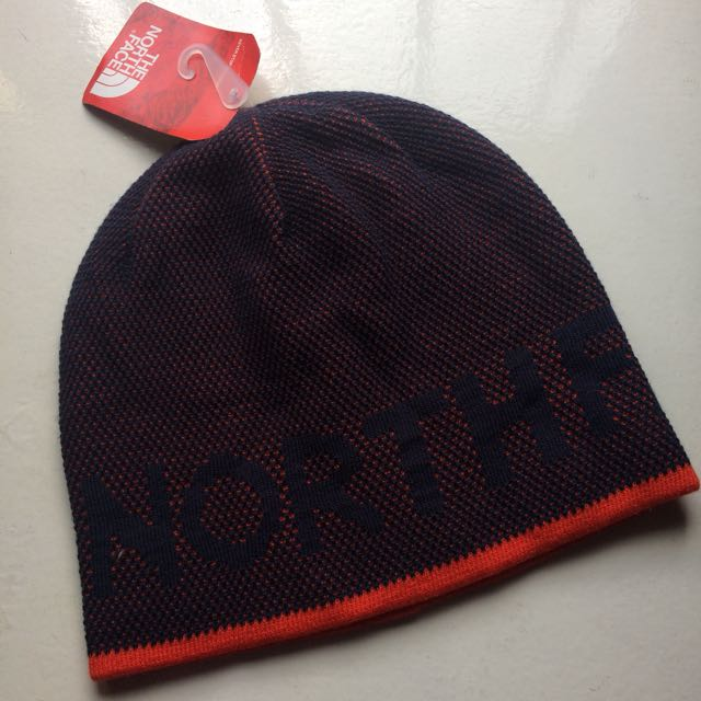 Northface red beanie