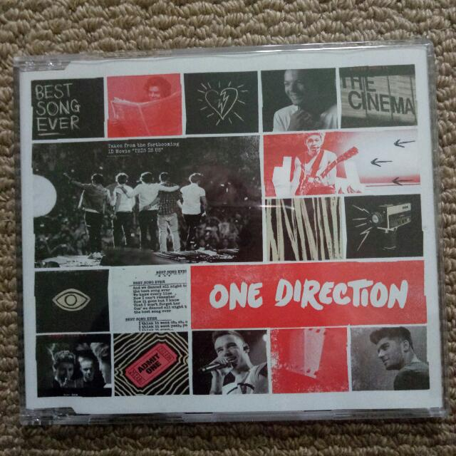 One Direction Best Song Ever EP Album CD