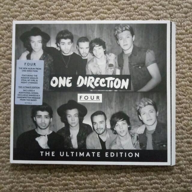 One Direction Four Album CD