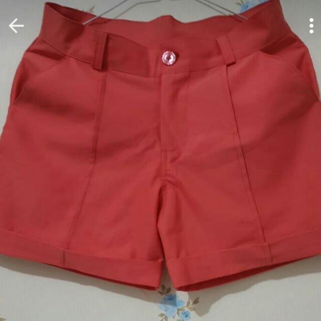 Orange Hotpants