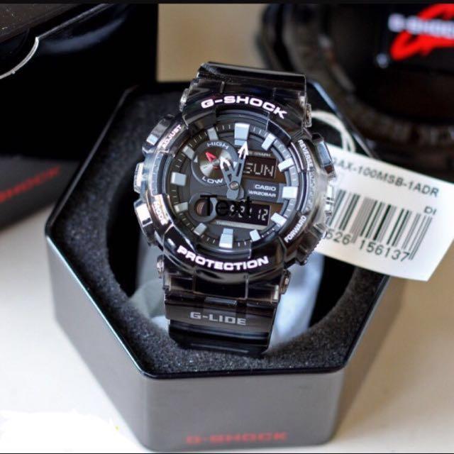 0bb250da5c1 Original Brand New Casio G-Shock G-LIDE GAX-100MSB-1A Men's Watch ...