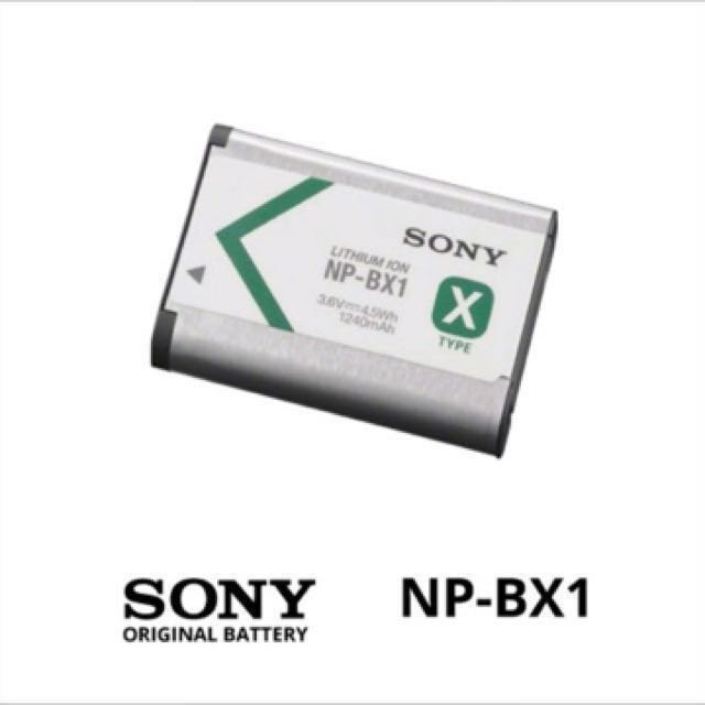 Original Li-ion Battery (NP-BX1) By Sony, Photography on