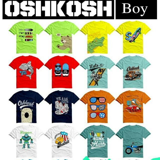 Oshkosh Kaos Anak Branded Kaos Karakter Anak Murah Suplier Baju Anak ... bd95ef34d3