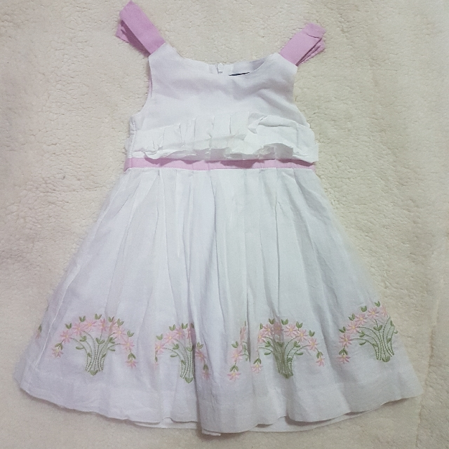 Periwinkle Baby Dress